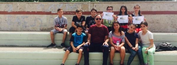 Διακρίσεις των μαθητών του σχολείου μας στους σχολικούς αγώνες στίβου